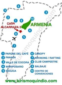 bbicacion Casa de Campo Alcarraza 3