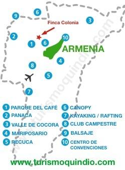bbicacion Finca Colonia RS