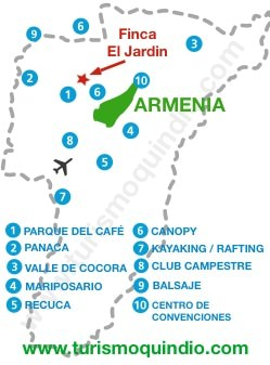 bbicacion Finca Jardin – RS