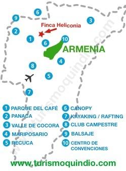 bbicacion Finca Heliconia – RS