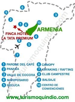 bbicacion Finca Hotel La Tata Premium