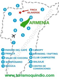 bbicacion Finca Islaverde