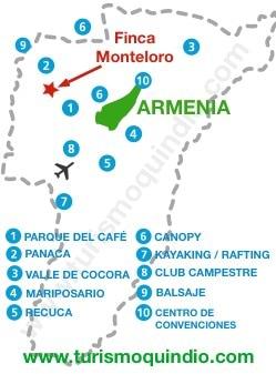 bbicacion Finca Monteloro