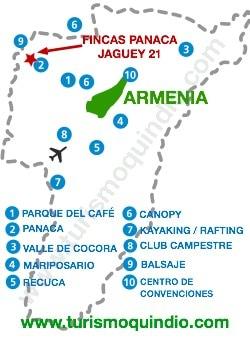 bbicacion Fincas Panaca – Jaguey 21