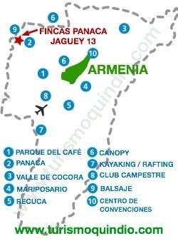 bbicacion Fincas Panaca – Jaguey 13