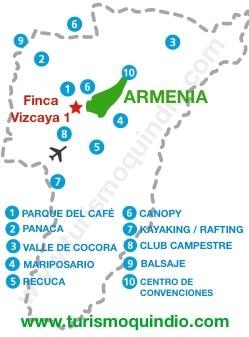 bbicacion Finca Vizcaya 1