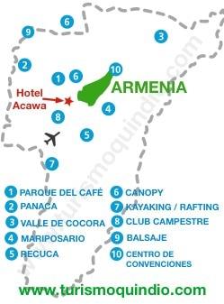 bbicacion Hotel Acawa