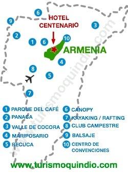 bbicacion Hotel Centenario