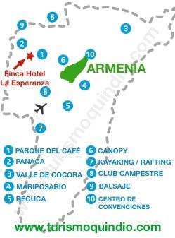 bbicacion Hotel La Esperanza