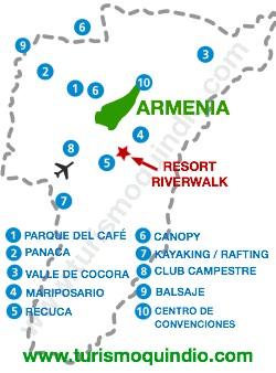 bbicacion Hotel Riverwalk Resort