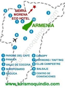 bbicacion Eco Hotel Sierra Morena