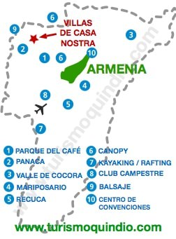 bbicacion Villa Mariana – Villas de Casa Nostra