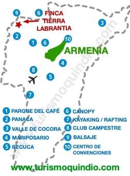 bbicacion Finca Tierra Labrantía