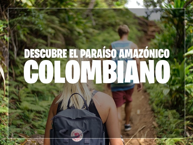 Excursionistas por el Amazonas