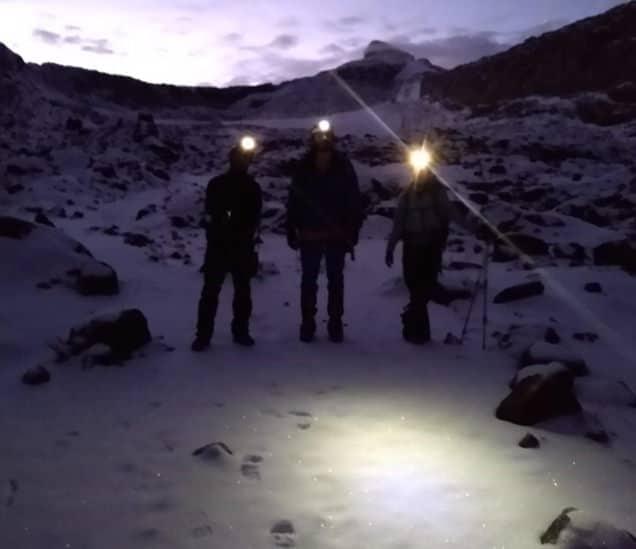 Ascenso Nocturno Nevado Santa Isabel